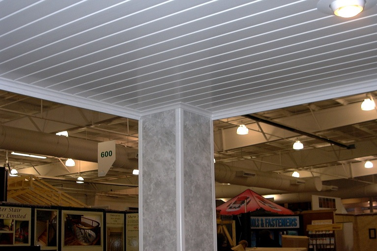 Interlocking PVC wall panels